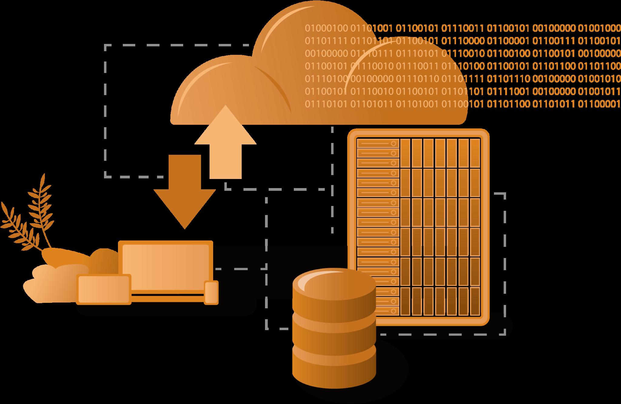 Dienstleistung - Datenbanken